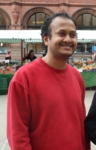 Photo: York Trade Justice campaigner, William Gomes.