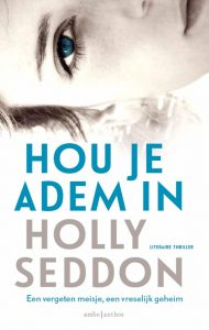 Dutch cover of Try Not to Breathe renamed Hou Je Adem In